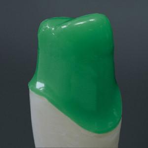 Tauchwachs, grün