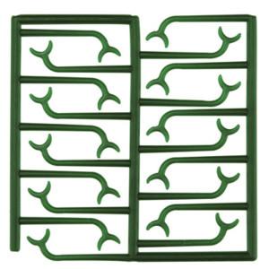 Wachsschablonen für Bonyhard-Klammern (280 Einzelklammern)