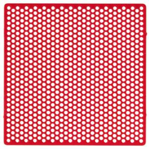 Wachs-Lochgitter-Retentionen für OK-Modellguss-Prothesen, 70 x 70 mm
