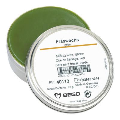 Fräswachs, grün