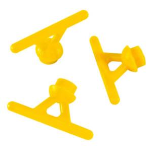 Rapid-Wax-System: Gusskanal mit Verteilerbalken, Ø 5,0 mm  gelb