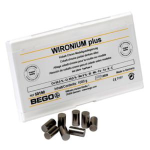 WIRONIUM plus - Co-Cr-Legierung für Modellguss (Abgabe nur an lizenzierte I.W.C.-Labors)