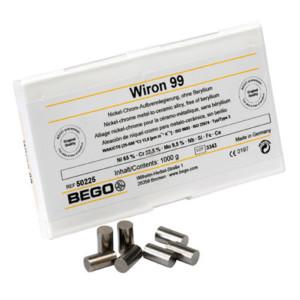 Wiron 99 - Aufbrennfähige Premium Ni-Cr-Legierung, berylliumfrei
