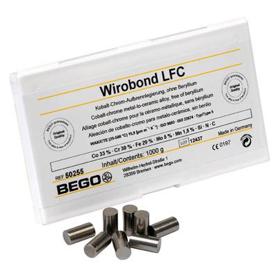 Wirobond LFC - Aufbrennfähige Co-Cr-Legierung, nickelfrei