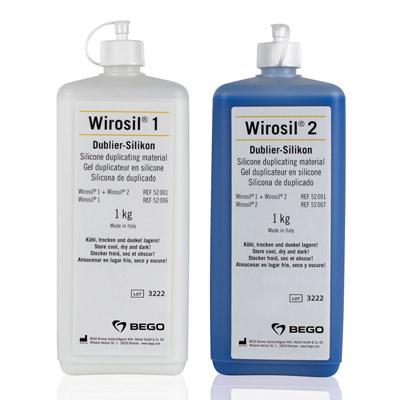 Wirosil Dublier-Silikon, 2 x 1 kg + 1 Flasche Wirosil®