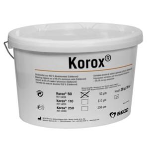 Korox® 50  Edelkorund-Abstrahlmittel (99,6% Alu-Oxid)