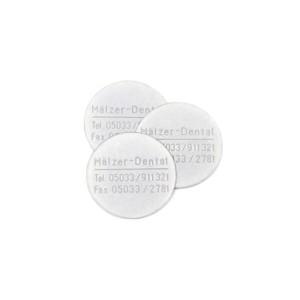 Adesso Split® Haftplatten mit Mälzer Dental Logo