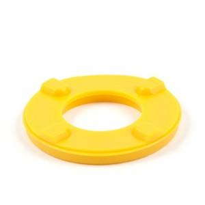 Kunststoffartikulationsplatten verw. für Adesso Split® System, gelb
