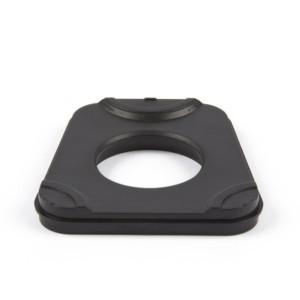 Kunststoffartikulationsplatten verw. für Splitex® System, schwarz