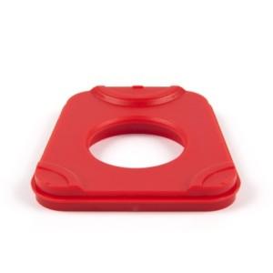 Kunststoffartikulationsplatten verw. für Splitex® System, rot